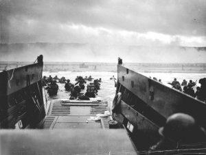 Vylodění spojenců v Normandii.