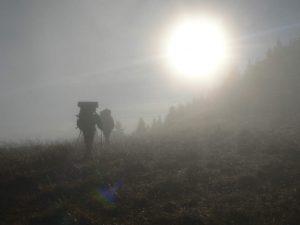 Neproniknutelná ranní mlha.