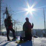 Sluneční paprsky byly v panující třeskuté zimě pravým požehnáním.