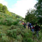 Hromadný výlet na sopku Le Puy Griou.