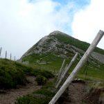 Vrchol Le Puy Griou v celé své kráse.