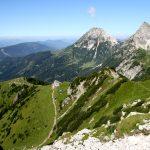 Pohled na Südwandhütte.