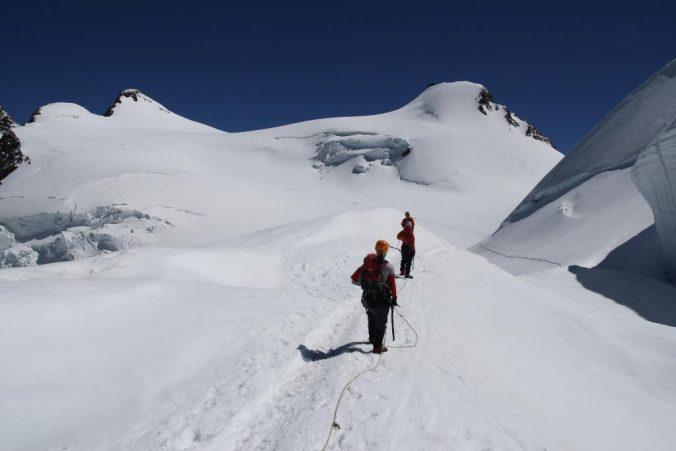 Cesta po ledovci.