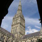 Monumentální katedrála v Salisbury.