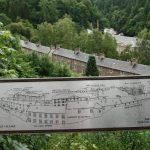 New Lanark, sídlo skotského Baťy v obchodu s bavlnou.
