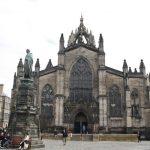 Velký zážitek byla návštěva katedrály St. Giles.