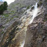 Patnáctimetrový vodopád.