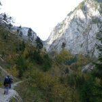 Vápencové údolí Großes Höllental.