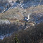 Salaše v údolí pod Ploskou, kde budeme spát.