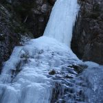 Krásně zateklý vodopád.