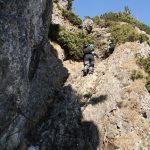 Výstup na Malý Rozsutec, pěkně po skalkách.