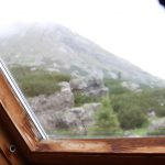 Den druhý, podle předpovědi nejhezčí, výhled z Hesshütte.