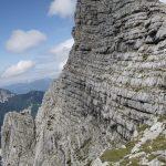 Severní stěna Planspitze – tudy vede dvojková cesta?