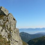 Cestou na Ďumbier se odkryly nádherné výhledy na Roháče a Vysoké Tatry.
