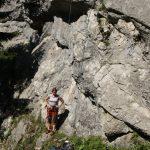 Příjemné lezení na Wasserfall Klettergarten.