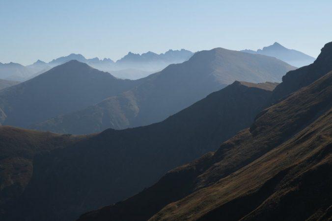 Výhled na Vysoké Tatry.