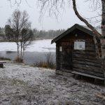 Podzim tu začal postupně přecházet v zimu.