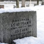 Cestou ze Švédska do Norska jsme minuli zajímavý hřbitov.