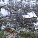 Studená chata Litjrennbua, tady nám byla zima.