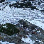 Opět na řetězech do Velké zmrzlé, tentokrát jsou více pod ledem.