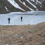 Gefrorener See bylo opravdu zamrzlé.