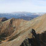Nejvyšší kopec v dohledu je Hochhaide.