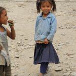 Děti se fotily rády. Za odměnu jim stačilo se vidět na displeji foťáku.