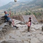 Děti byly úžasné. Byly šťastné i z toho, že jsem si s nimi chvíli házel míčem.