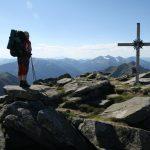 Na vrcholu Gamskogel 2386 m. n. m.