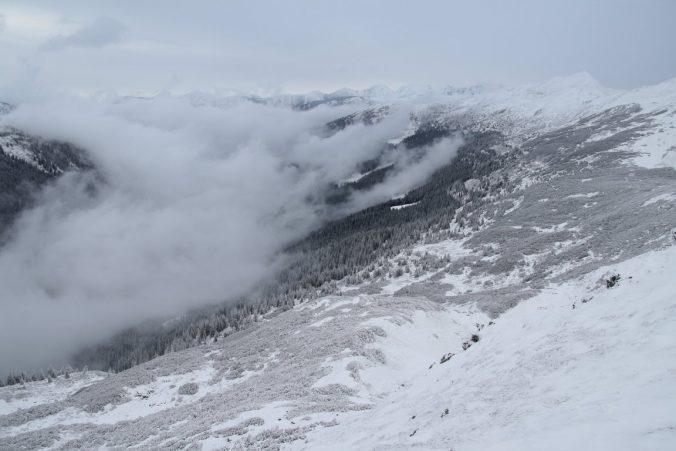 Rottenmannské Taury v zimě.