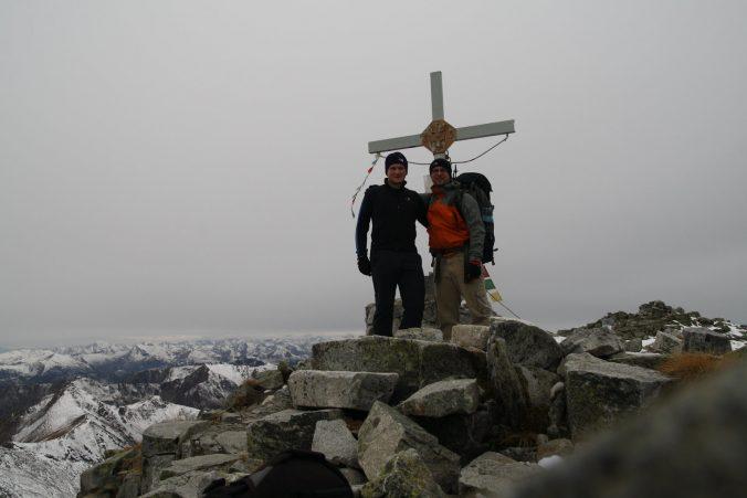 Na vrcholu Großer Bösenstein.