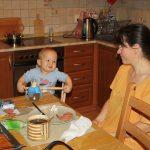 Snídaně s mámou.