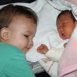 Naše dvě miminka.