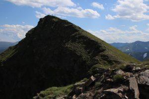 Endy na vrcholu Seitnerzinken.