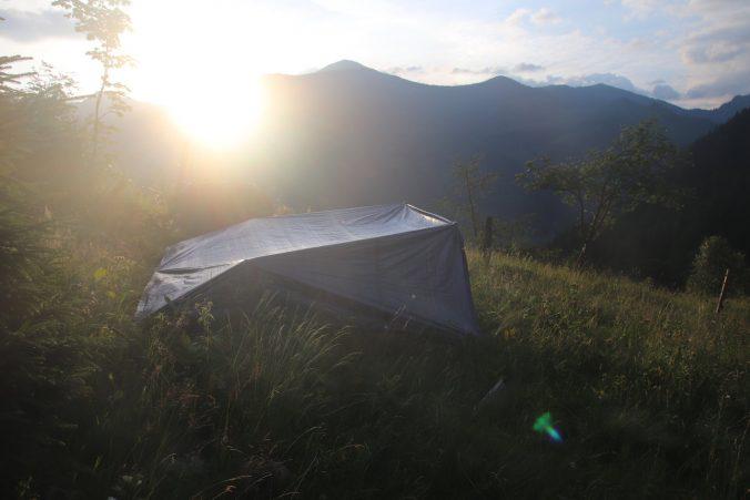 Východ slunce nad Taurami.