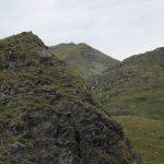 První a jediný vrchol celého treku, Talkenschrein.
