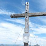 Ještě vrcholový kříž na Talkenschreinu.