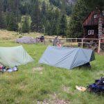 Luxusní tábořiště.