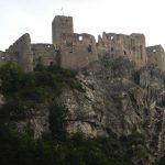 Zřícenina hradu ve Strečně, končíme.