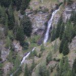 Vodopád kousek pod Schattnerhütte.