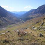 Krásně vybarvené údolí Günster Tal.
