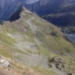 Výhled z Gjoadecku dolů na Schimpelsee.