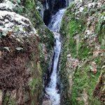 Další vodopád v Trenckově rokli.
