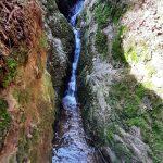 Fotogenický vodopád v Trenckově rokli.