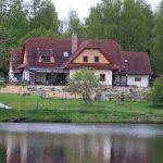 Farma u Vojtků a Kyšperský rybník.