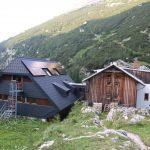Hesshütte se všemi přístavbami.