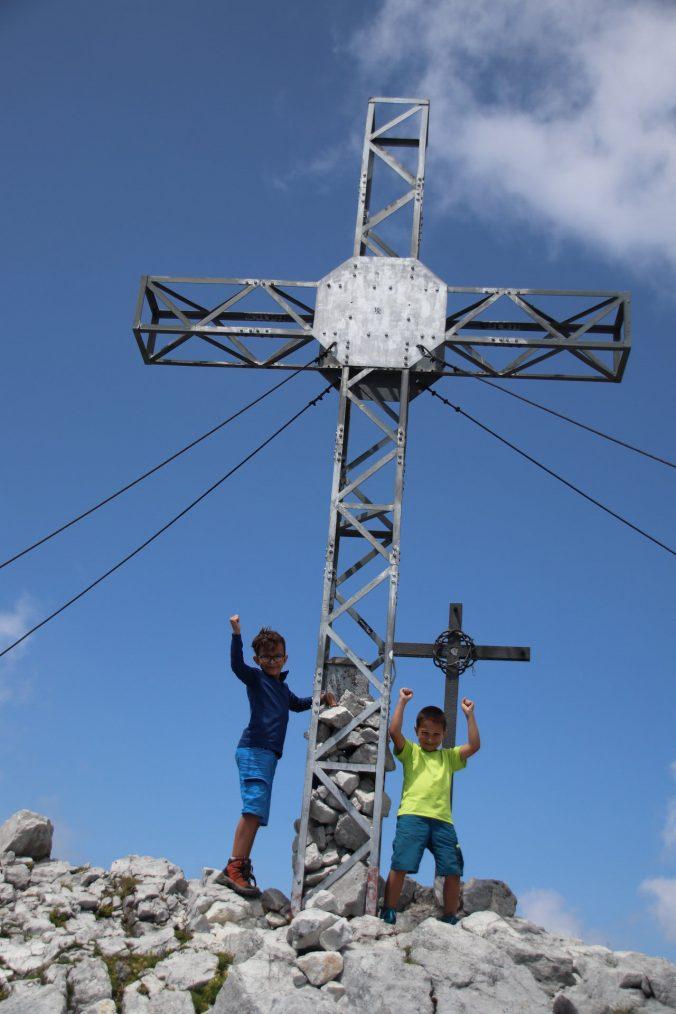 Jsme na vrcholu!