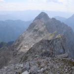 Pohled z Hochtoru na Großer Ödstein.