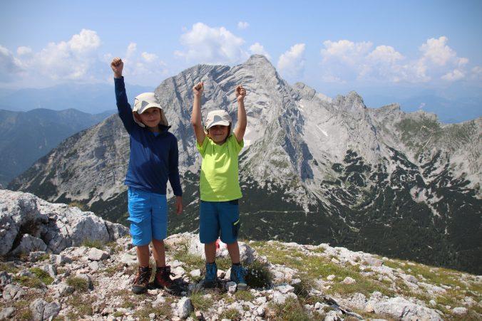 Hurá, ve třech dnech jsme zvládli všechny tři vrcholy!