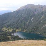 Großer Scheibelsee, nad ním Großer Hengst.